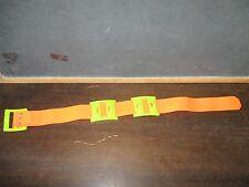 Fisher Price Action hiking camping walking belt Hooks Orange Green Utility Belt