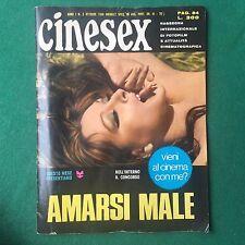 FOTOROMANZO EROTICO CINESEX n.2 Anno 1 (ITA 1969) Magazine vintage LUCIO DALLA