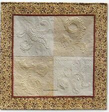 My Wholecloth Sampler Quilt Pattern Pieced/Trapunto WS
