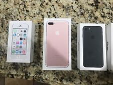 each one is $8.99 6 x Empty box For Apple iPhone 5s ,6s 16gb  ,7 plus gold 32gb,