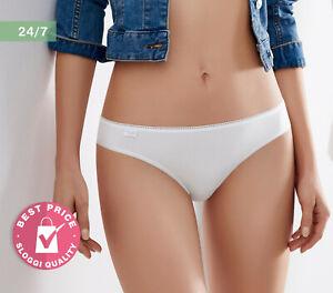 Sloggi 24/7 Cotton Mini Briefs Bikini Knickers Pants 2 Pack 10182319 RRP £19.00