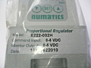 Numatics E222-032H Proportional Regulator