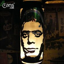 Lou Reed Beer Can Lantern! The Velvet Underground Pop Art Portrait Candle Lamp