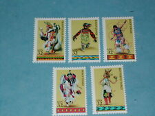Set of 32 cent American Indian Dance Stamps (SC 3072-76) MNH
