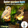 Owl Solar Power LED Garden Light Outdoor Path Lawn Yard Decor Landscape Lamp