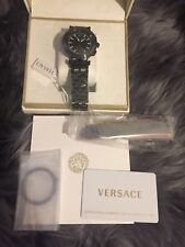 VERSACE V-Race Chronograph Black Dial Men's Watch £1900