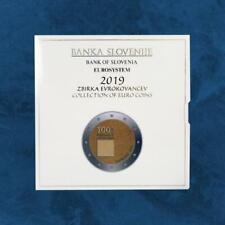 Slowenien - Jahrganggsatz - KMS 2019 PP - 8,88 Euro - 1 Cent - 2 Euro + 3 Euro