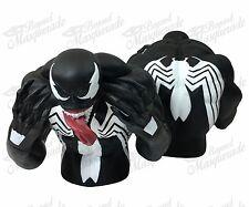 Marvel Universe Evil Spiderman Venom Bust Licensed Piggy Coin Bank