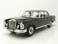 MERCEDES 280 SE COUPE W111 1969 BLACK NOREV 183432 1/18 BENZ LHD METAL SCHWARZ