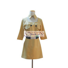 Hetalia: Axis Powers South Italy Romano Reversion Female Body Cosplay Costume