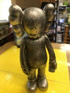 Medicom Toy KAWS Companion Open Edition Grey Figure Original Fake