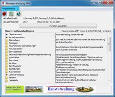 Hausverwaltung MH  3.1 WEG Abrechnung und Nebenkostenabrechnung  Top