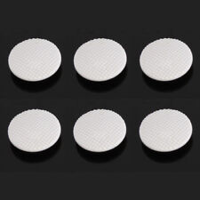 6x WHITE Analog Joystick Controller Button Cap Sony PSP 1000 1003 1004 Fat