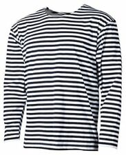 Magliette da uomo neri manica lunghi Taglia XXXL