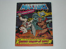 MOTU HE-MAN MASTERS OF THE UNIVERSE MINI COMIC 1983 SECRET LIQUID OF LIFE - HK