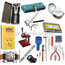Horologe Watch Link Pins Battery Case Opener Holder Remover Repair Kit Tools Set