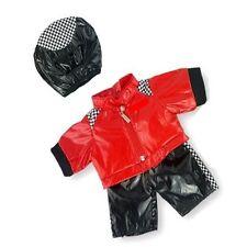 Teddy Bear Clothes fits Build a Bear Teddies Motorbike Clothing & Crash Helmet