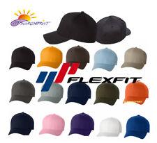 12 Classic Flexfit Blank Baseball Cap6277 Hat Wholesale Bulk Lot All Colors