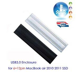 USB3.0 Hard disk Enclosure for 2010/11 Apple MacBook Air 6+12pin Original SSD