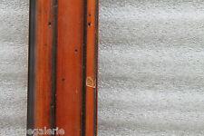 Cadre pour peinture bois contemporain 53cm vide sculpté patine marron clair fumé