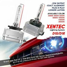 Xentec Xenon Lights Bulbs HID Kit D1S D1R 3000K 5000K 6000K 8000K 10000K 15000K