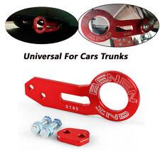 1X Universal RED Aluminum Rear Tow Hook Ring Fit For CIVIC INTEGRA EG EK DC DC2
