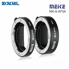 Meike Metal Auto Focus Macro Extension Tube for Sony E-Mount A6500 A6300 A7R A7S