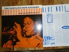 THE FABULOUS FATS NAVARRO VOL.2 FRANCE BLUE NOTE VINYL LP BST 81532 M-