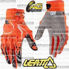 Leatt Gpx 5.5 Lite Blanco Negro Naranja Guantes Adulto Xl Motocross Enduro Quad Atv
