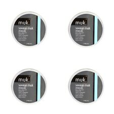4 X SAVAGE MUK 50gr Strong Savage Hold Semi Matte Finish Genuine / SAME DAY POST