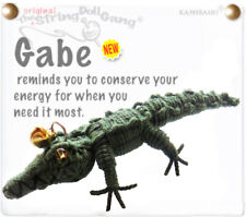 Kamibashi Gabe The Gator Green The Original String Doll Gang Keychain Clip