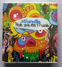 Jon Burgerman Pens are My Friends Big City Press Hardback 2008 ART BOOK & DVD