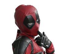 Movie Deadpool Mask Full Head Cosplay Soft Resin Helmet Halloween Costume Props
