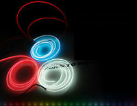 Interior LED wire if ambient light-emitting Diy Red 2M For Universal Fit