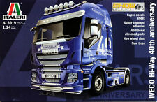 Italeri Iveco Hi-Way 40th Anniversary LKW Truck 1:24 Bausatz Model Kit 3919