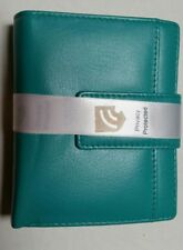 ALANA RFID BLOCKING LEATHER WALLET Cobb & Co 58601PLR -  Turquoise