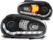 VW GOLF 4 1997 1998 1999 2000 2001 2002 2003 LPVWB2 FARI ANTERIORI LED NERO