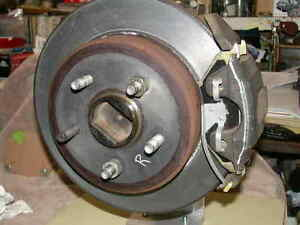 "1965-1973 Ford Mustang+ Rear Disc Brake Conversion Adapting Parts 9"" 8"" Spacers"