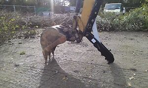 360 midi 3 digger, thumb grab, grapple for excavators 2.6-3.9T inc vat