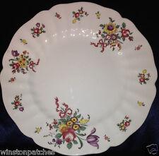 "ROYAL DOULTON OLD LEEDS SPRAYS D 6203 LARGE DINNER PLATE 10.4"" FLOWERS RIBBONS"