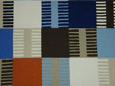 "Harlequin scion rideau tissu design ""navajo"" 6.7 mètres indigo/bleu multi"