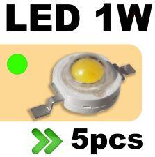 534/5# LED 1W Vert --- 5pcs