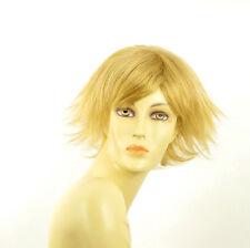 Perruque femme courte blond clair doré AMBRE LG26