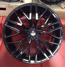 "20"" AXE EX30 ALLOY WHEELS FITS VW TRANSPORTER T5 T6 BMW 3 4 5 6 SEIRES BLACK"