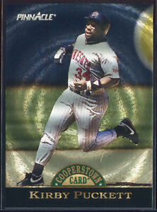 1993 Pinnacle Cooperstown Dufex #12 Kirby Puckett /1000