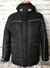 Bogners Girls Black White Ski Snowboard Snow Jacket Coat Size Large 140-146