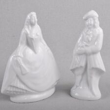 Meissen Figur / Couple figure Kavalier und Lady, white, First Quality
