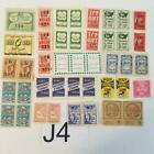 16 different HTF savings stamps trading stamps sample pack Cinderella stamps J4