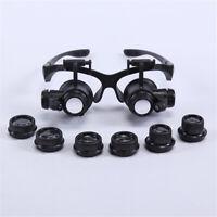 10X /25X Dentist LED Surgical Loupes Medical Binocular Glasses Dental Magnifier