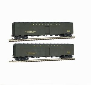 WALTHERS 932-24182 GOLD LINE ACF TROOP KITCHEN CONVERSION CAR 2-PACK BURLINGTON